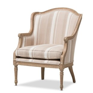 Delicieux Alaincourt Traditional French Armchair