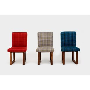 C2 Houndstooth Upholstered Dining Chair b..