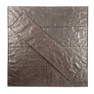 Metallic 3 x 6 Glass Subway Tile