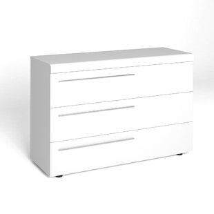 Gregers 3 Drawers Combi Chest By 17 Stories