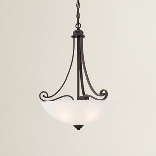 Fleur De Lis Living Elinor 1-Light Bowl Pendant