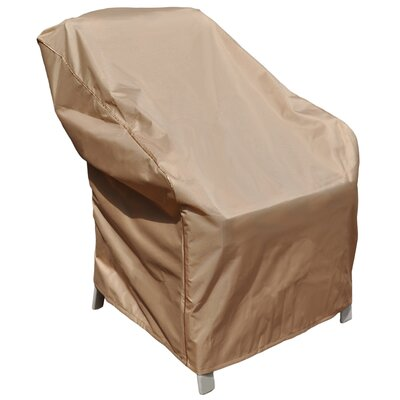 BudgeIndustries Chelsea Outdoor Chair Cover Size: 34 H x 36 W x 41 D