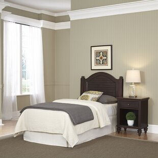 Compare prices Harrison Panel 2 Piece Bedroom Set By Beachcrest Home