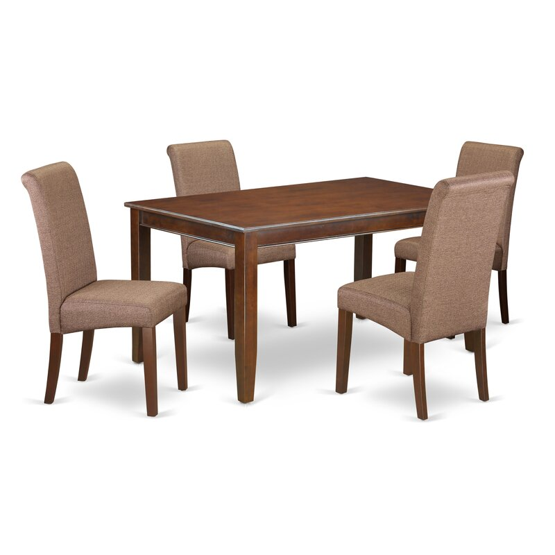 winston porter bailee kitchen table 5 piece solid wood