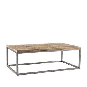 Blackman Recycled Teak Coffee Table by Union Rustic