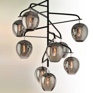Brayden Studio Satchell 9-Light Sputnik Chandelier