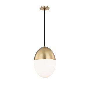 George Oliver Demars 1-Light Globe Pendant
