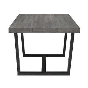Marine Distressed Solid Wood Dining Table