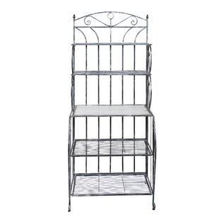 Old Dutch International Saddlebrook Iron Baker's Rack