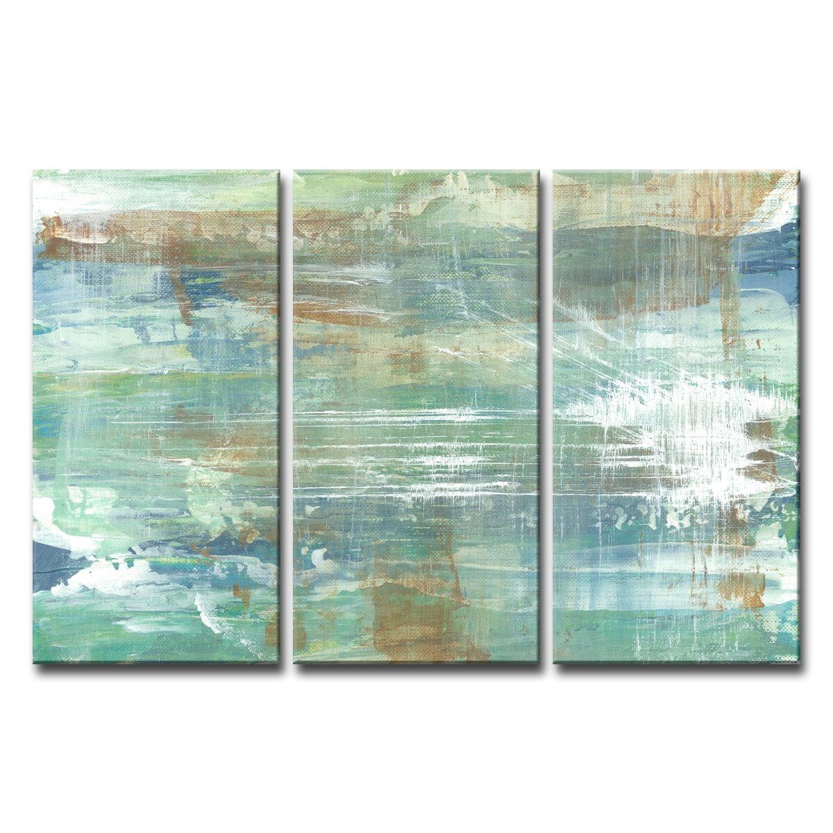 Copper and Blue 3 piece set