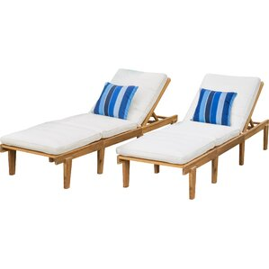 Wood Lounge Chairs wood outdoor lounge chairs you'll love | wayfair