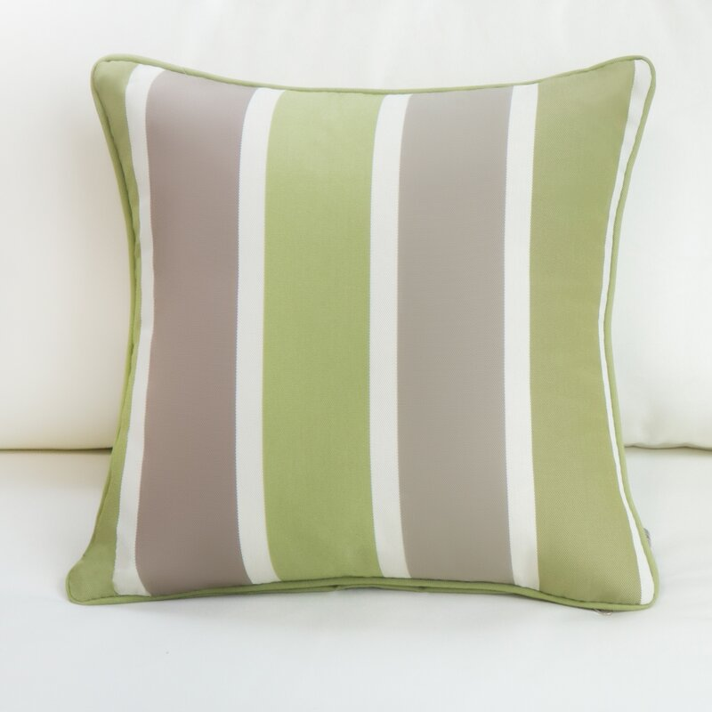Bayou Breeze Aruba Striped Indoor Outdoor Throw Pillow Wayfair