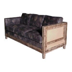 Sherly Leather Sofa by Union Rustic