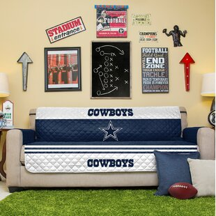 NFL Sofa Slipcover by Pegasus Sports Best #1