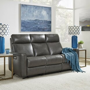 Pell Leather Reclining Sofa