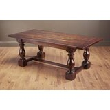 Buchman Solid Wood Dining Table by Canora Grey