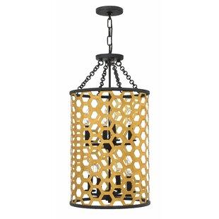 Felix 8-Light Foyer Lantern Pendant by Hinkley Lighting