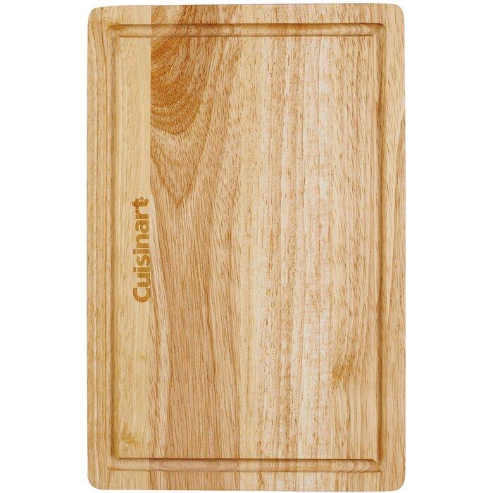 Cuisinart Rubberwood Wood Cutting Board