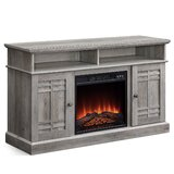 Catasauqua TV Stand for TVs up to 50 with Electric Fireplace Included by Gracie Oaks