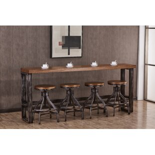 Wellman Pub Table Set by Williston Forge 2019 Coupon