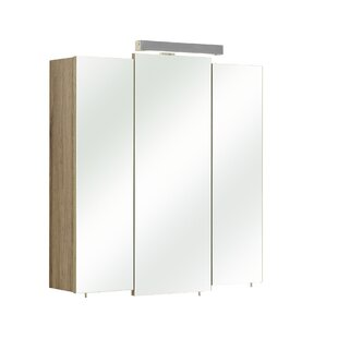 Rom 68 X 73cm Mirrored Wall Mounted Cabinet By Quickset