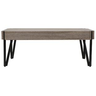 Harrell Oak Coffee Table