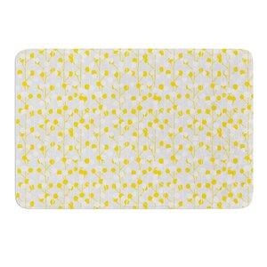 Lemon Drop by Julie Hamilton Bath Mat