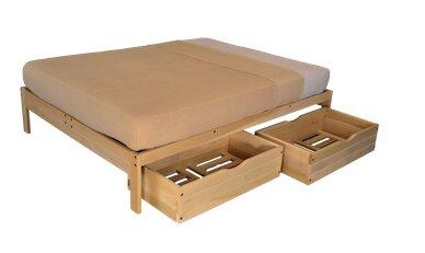 kd frames nomad 2 platform bed with storage & reviews   wayfair