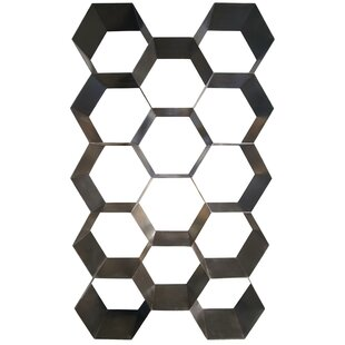 Bee Hive Geometric Bookcase by Noir
