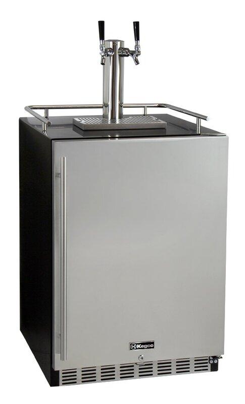Kegco Dual Tap Full Size Beer Dispenser