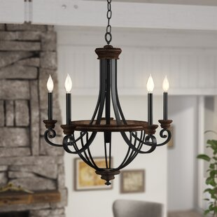 Nanteuil 5-Light Empire Chandelier by Laurel Foundry Modern Farmhouse