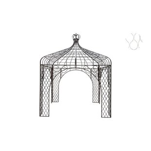 Flack 3m X 3m Metal Patio Gazebo By Fleur De Lis Living