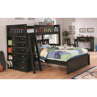 Bassler Twin over Full Bed with Drawer