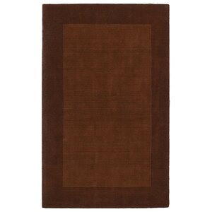 Attles Solid Kids Copper Rug