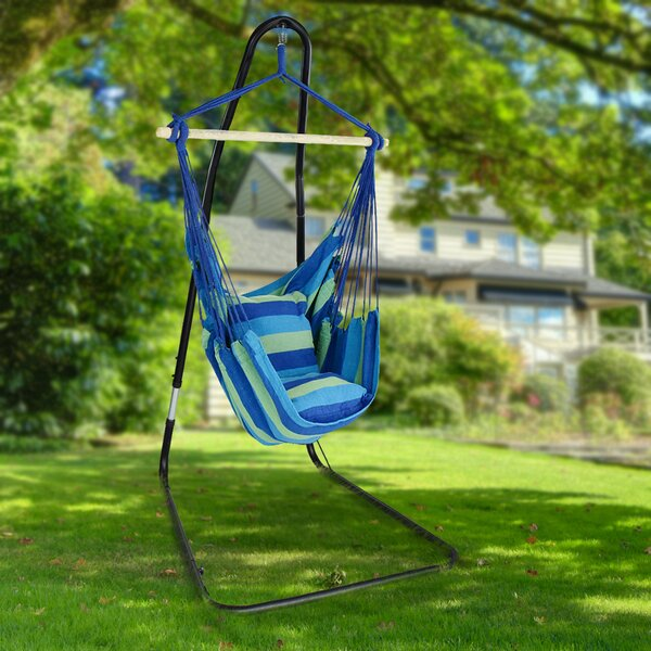 Gianna Adjule Chair Hammock With Stand
