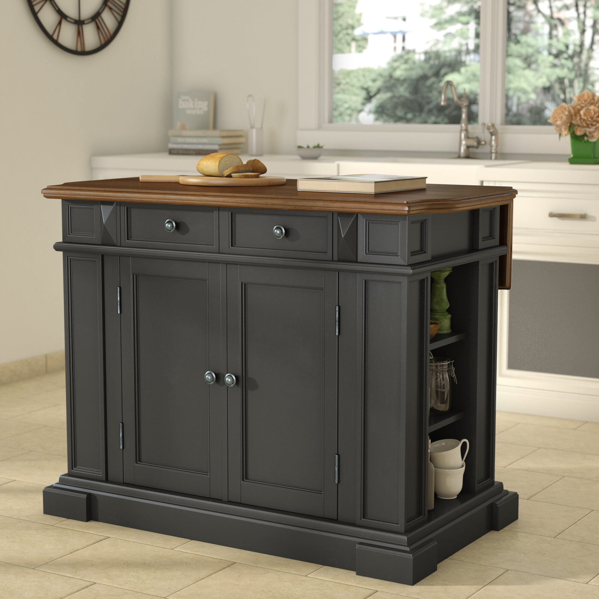 Fabulous 24 X 36 Kitchen Island Wayfair Download Free Architecture Designs Lukepmadebymaigaardcom