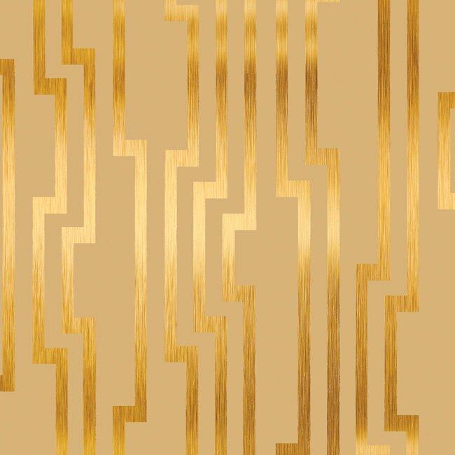 "York Wallcoverings Candice Olson 33' x 20.5"" Shimmering Details Wallpaper Roll"