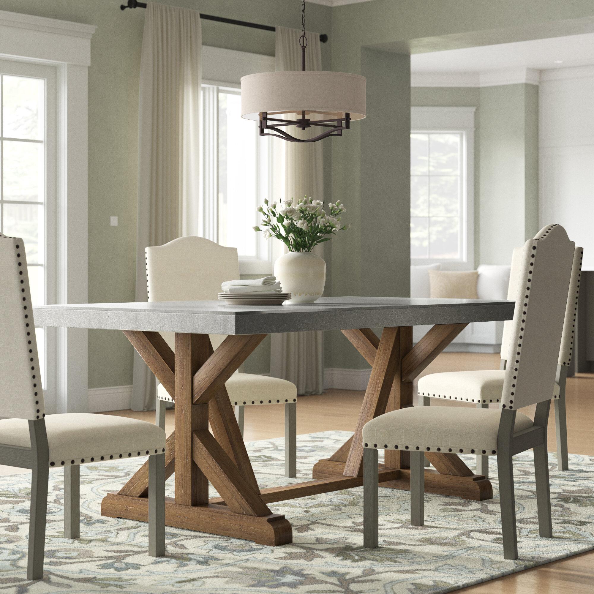 Charlton Home Wydmire Dining Table & Reviews | Wayfair