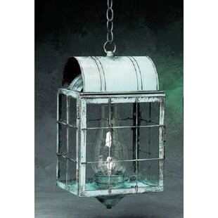 Best Price Xzavier 1-Light Outdoor Hanging Lantern By Breakwater Bay
