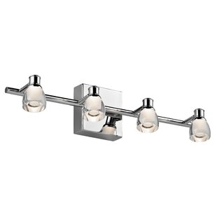 Led bathroom vanity lighting youll love wayfair save aloadofball