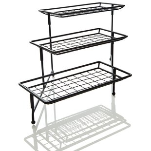 Well-known 3 Tier Metal Stand | Wayfair BO69