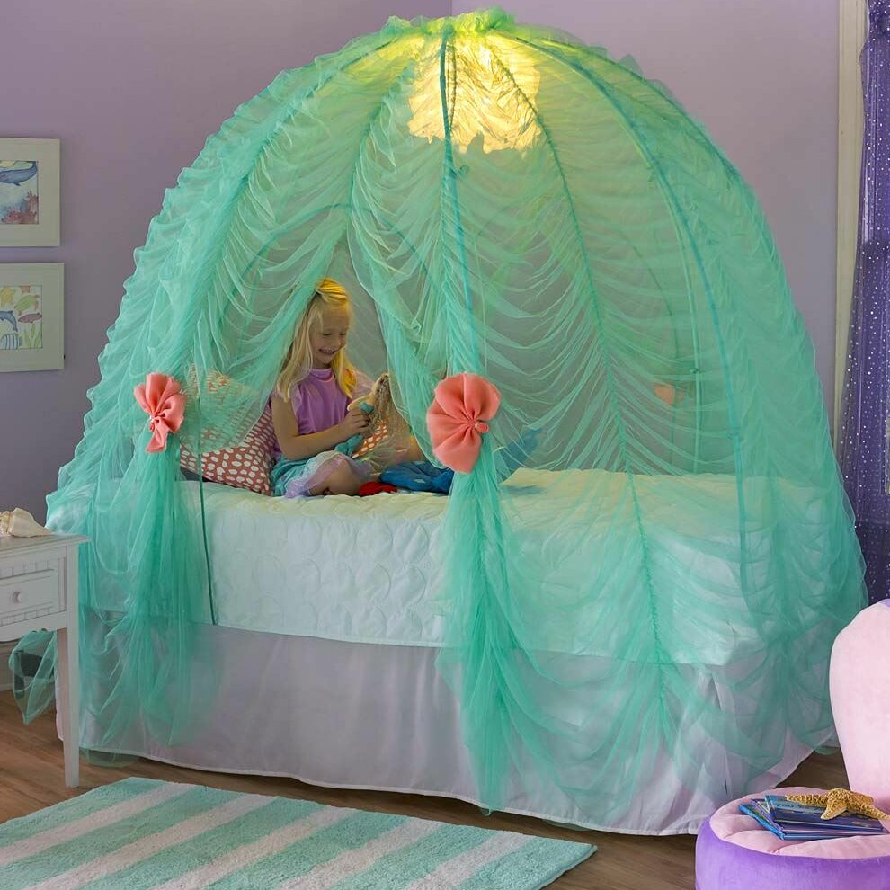 Zoomie Kids Gold Coast Under The Sea Bed Canopy U0026 Reviews | Wayfair