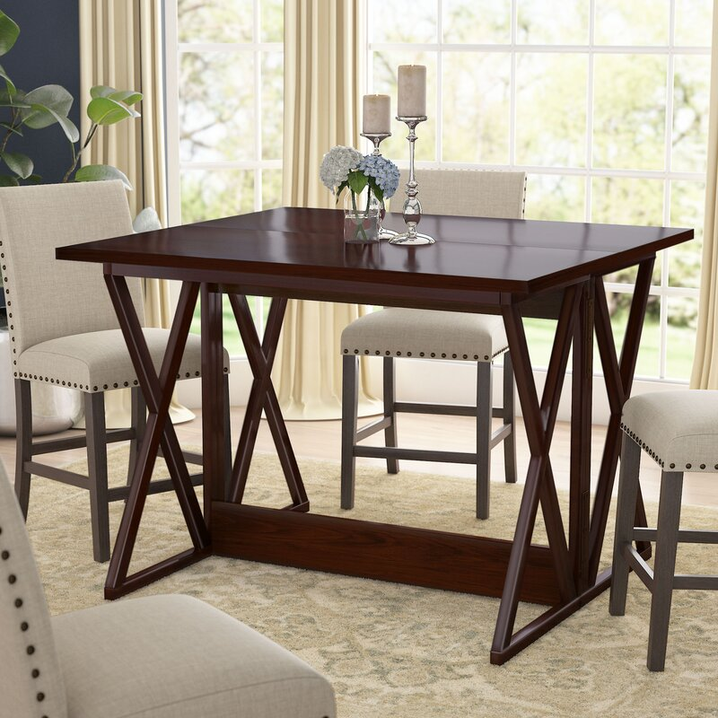 Round Table La Habra.Bolger Counter Height Extendable Dining Table