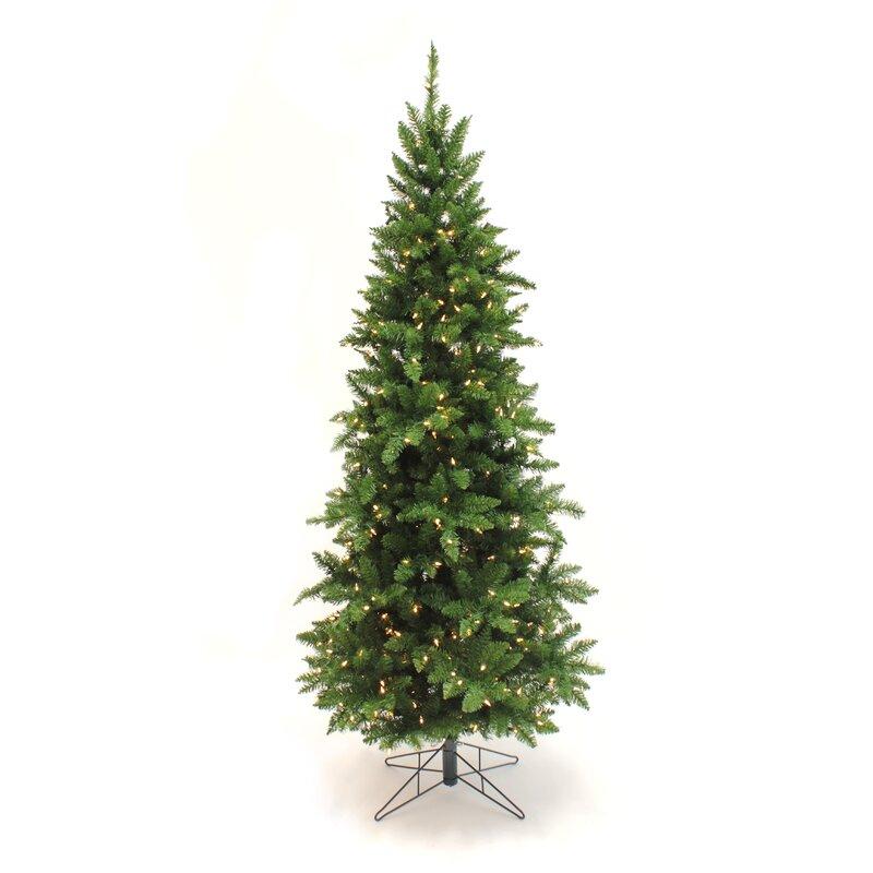 Next Slim Christmas Tree: The Holiday Aisle Slim Green Pine Artificial Christmas