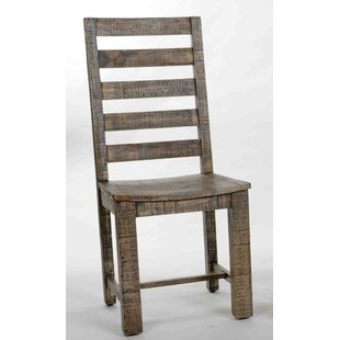 Millwood Pines Walburn Solid Wood Dining Chair
