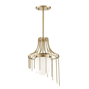 Everly Quinn Leigh 1-Light Foyer Pendant