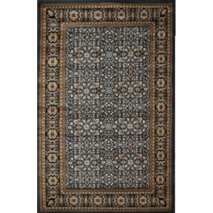 Valorie Brown/Black Area Rug ByDarby Home Co