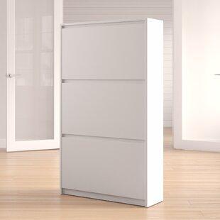 Rebrilliant Ridgley 16-Pair Shoe Storage Cabinet
