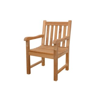 Classics Teak Patio Dining Chair by Anderson Teak Looking for