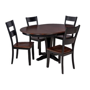 Valleyview 5 Piece Solid Wood Dining Set ..